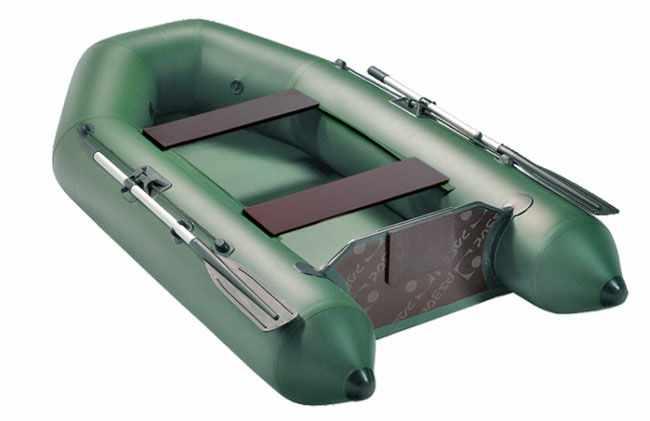 Корма надувной лодки «Аква 2600»
