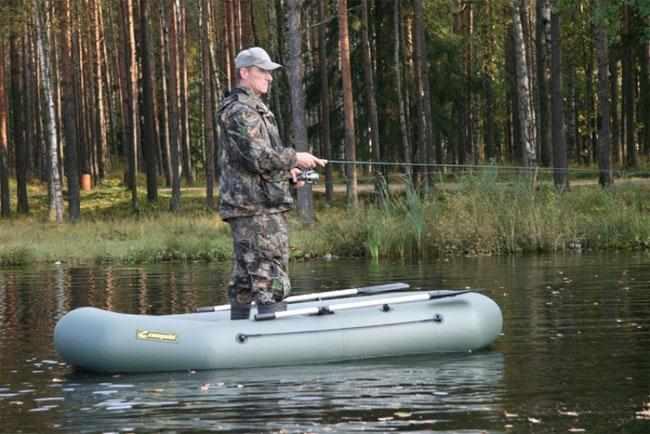 Рыбалка стоя из лодки «Компакт 265»