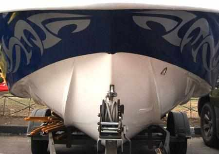 Днище лодки «SAVA EGO 555»