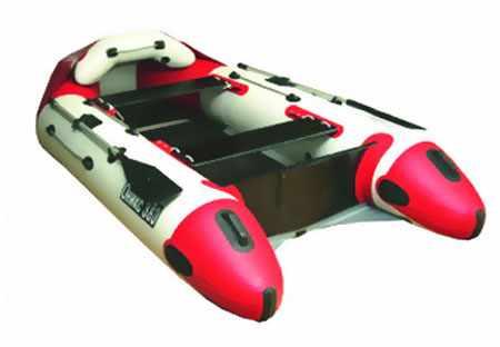 Скругление баллонов в корме лодки Оникс 360