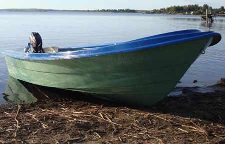Корпус лодки «Онего 365»