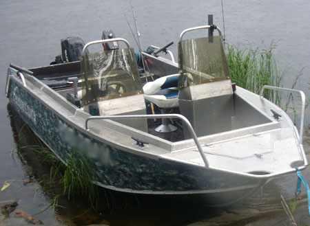 Лодка Fishline 470 в базовой компоновке