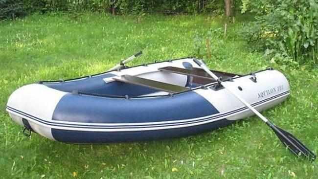 Компоновка надувной лодки «Aquilon 360»