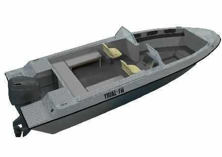 Компоновка лодки «TRIAL FISHER 630»