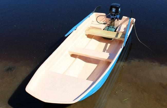 Компоновка лодки «Альтан 36»