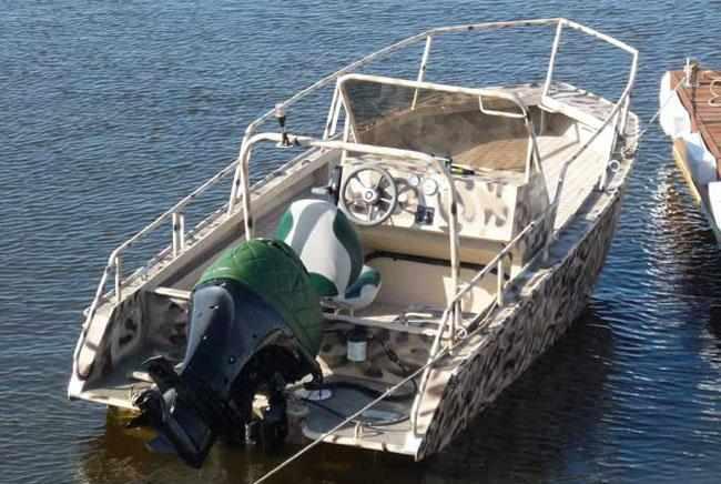 Вариант лодки «Sea Pride 520» с открытым кокпитом