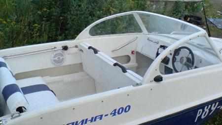 Компоновка лодки «Афалина 400»