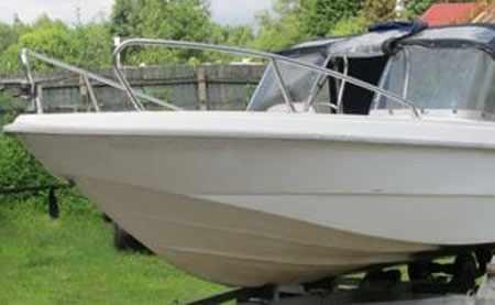 Днище лодки Стрингер 480