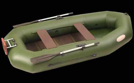 Надувная лодка «Вуд-2» с навесным транцем
