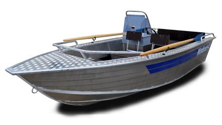 Лодка «Windboat 42с» title=