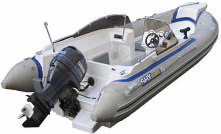 Компоновка лодки РИБ «SkyBoat 520RT»