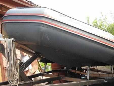 Килеватость днища лодки «Фаворит F 470»