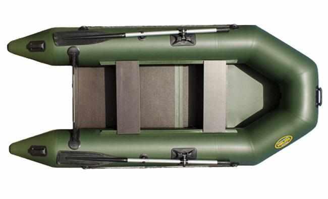 Компоновка надувной лодки «Гелиос 28М»