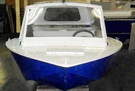 Корпус катера Томь 455