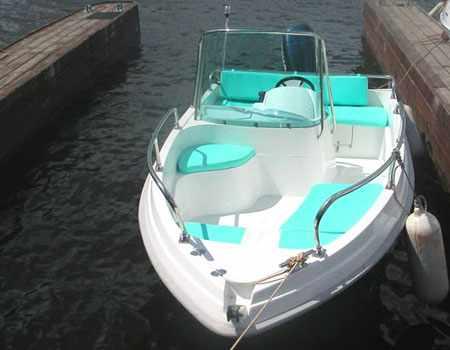 Компоновка кокпита лодки Стрингер 450