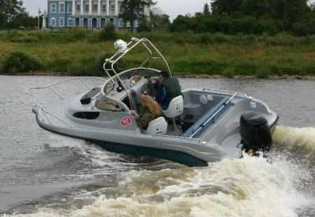 Компоновка лодки «SF 570»