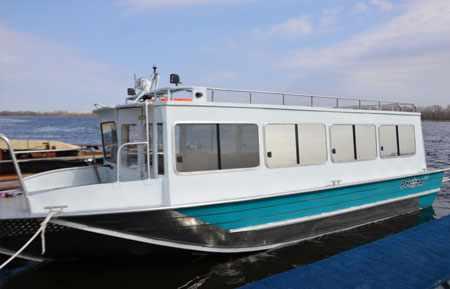 Компоновка лодки Рекорд 750