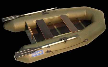 Моторная надувная ПВХ лодка «Вуд-2»