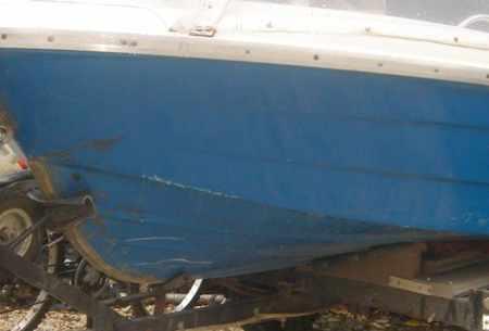 Днище лодки «Легант 350»