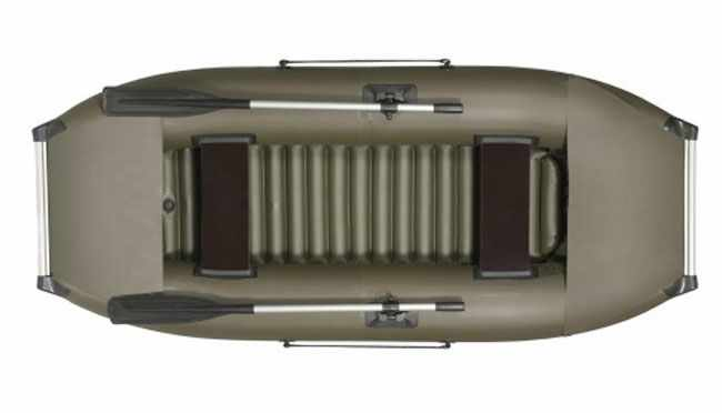 Надувная лодка «Ковчег К-270» с НДНД