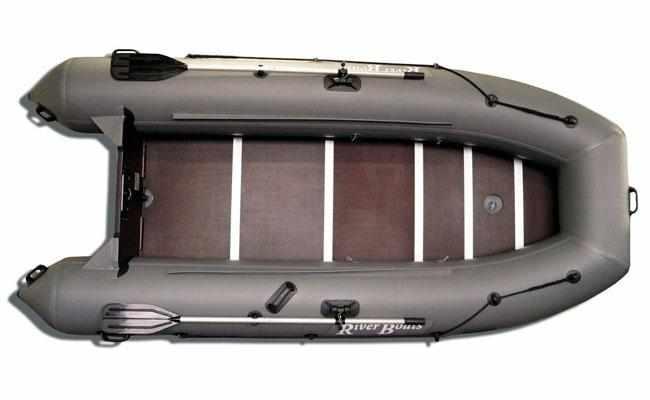 Компоновка надувной лодки «RiverBoats RB-350»