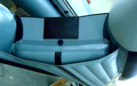 Корма надувной лодки «КомпАс-380» («CompAs-380»)