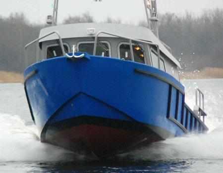 Корпус катера «Аляска 275»
