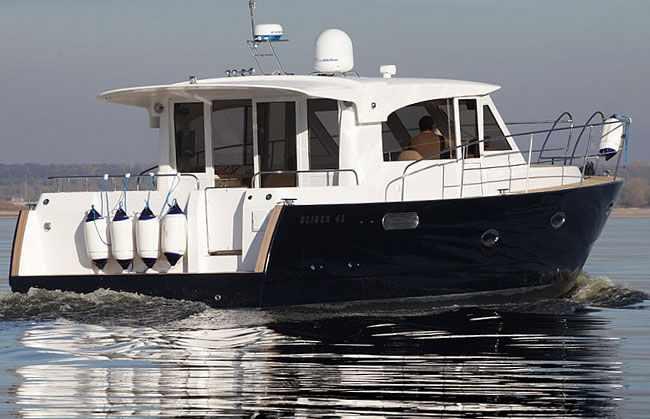 Корма яхты «Slider 42»