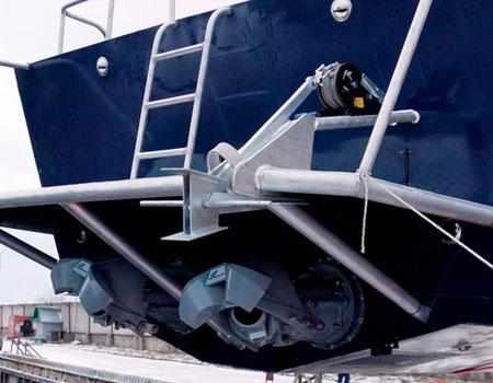 Корма катера «Barents 1200»