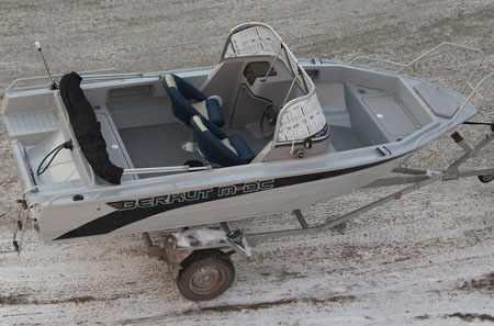 Компоновка лодки «Berkut M-DC»