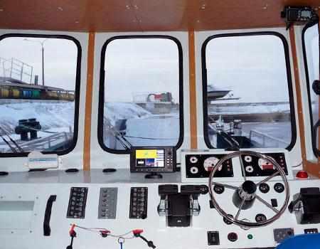 Пост управления катера «Barents 1200»