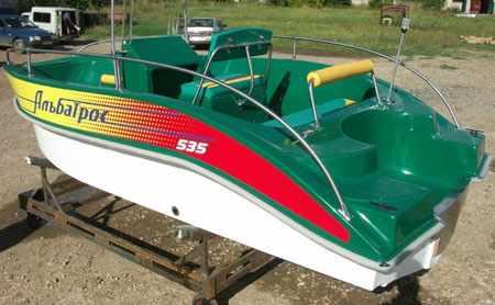 Корма лодки Альбатрос 535