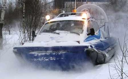 СПВ Марс 700 на снегу