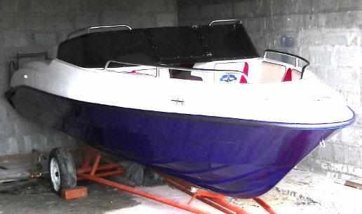 Корпус лодки «Темп 550»