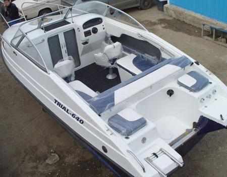 Компоновка лодки «TRIAL-640 CC»