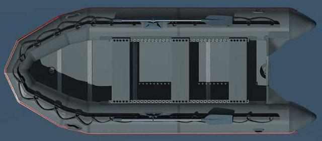 Компоновка лодки «Фаворит F-500»