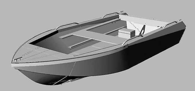 Конструкция лодки «Север 4200»