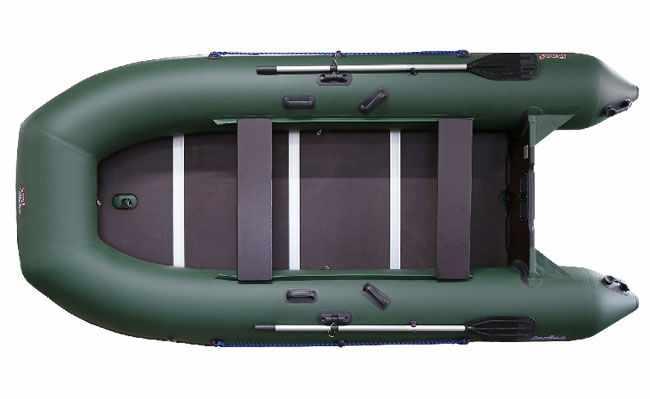 Надувная лодка «ProfMarine PM 300 ELS+» с фанерным наборным пайолом и профилями