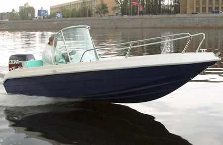 Корпус лодки Стрингер 450