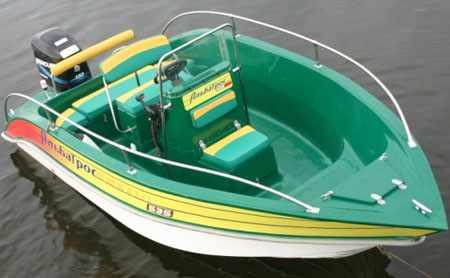 Компоновка лодки Альбатрос 535