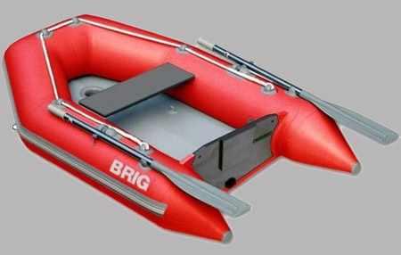 Надувная ПВХ лодка «Dingo D200 W» с надувным дном высокого давления