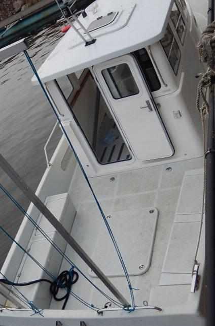 Задняя палуба катера «Арго»