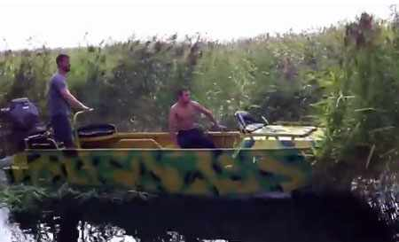 Лодка «AluGator 520» в зарослях