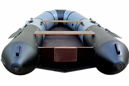 Корма надувной лодки ПМК 340