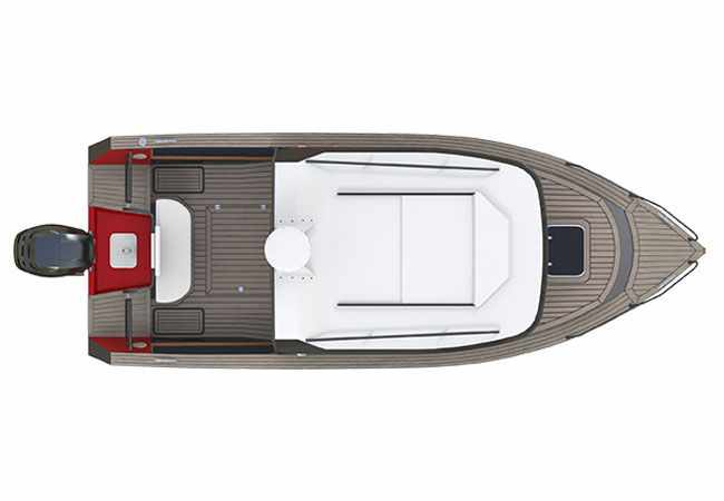 Компоновка лодки Волжанка 65