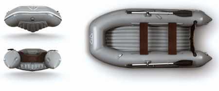 Форма днища лодки Флагман 320