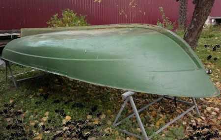 Обводы днища лодки Пелла