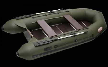 Моторная надувная ПВХ лодка «Вуд-2 Premium»