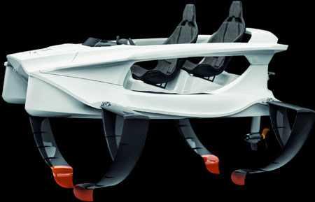 Конструкция катера «Quadrofoil Q2»