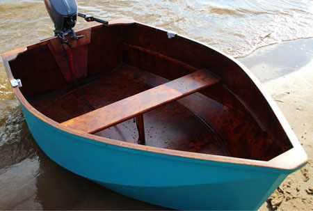 Конструкция деревянной лодки ДжекБот 180
